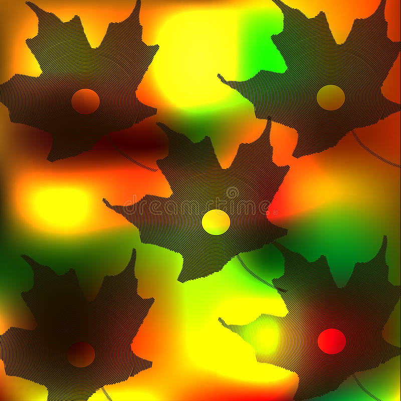 Maple leaves royalty free stock photos
