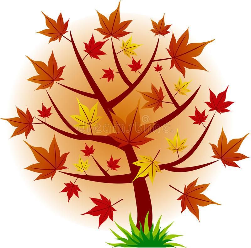 Download Maple Tree Autumn Leaf Fall Stock Vector - Image: 10863295