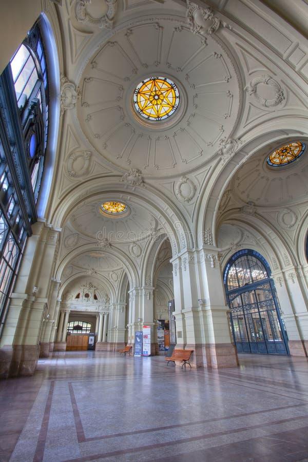 Mapocho Train Station, Santiago de Chile stock image