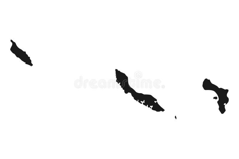 Mappa curacao Antille Paesi Bassi vettore isolato fondo dell'illustrazione illustrazione vettoriale