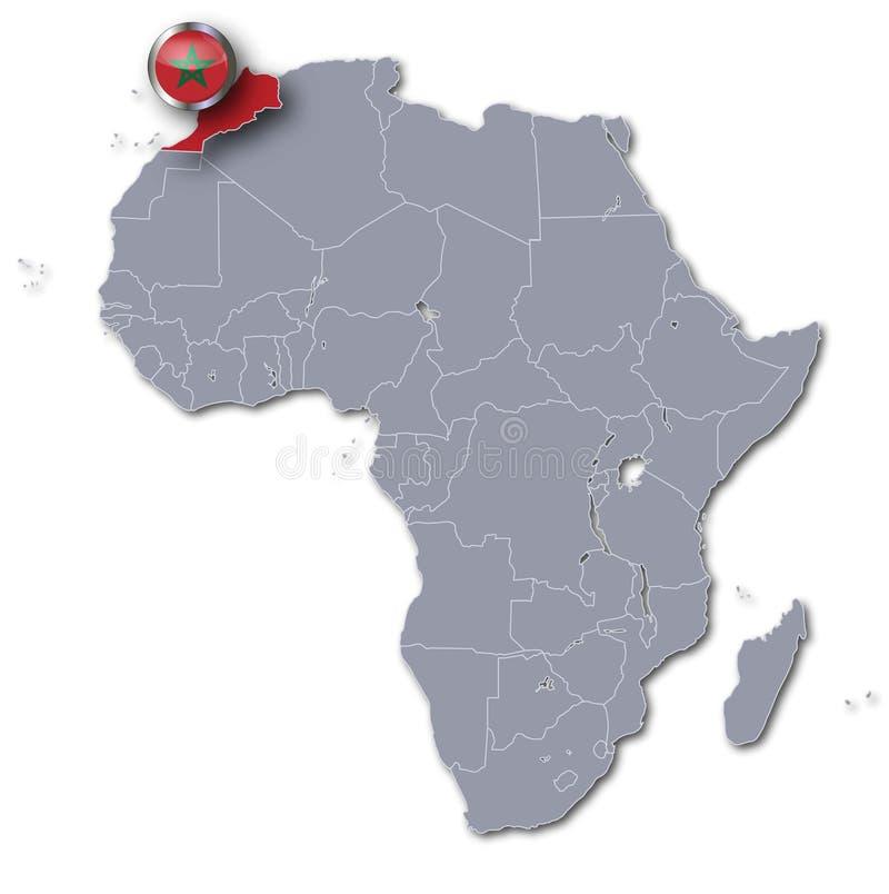 Cartina Africa Egitto.Mappa Dell Africa Con L Egitto Illustrazione Di Stock Illustrazione Di Zona Golfo 57609276