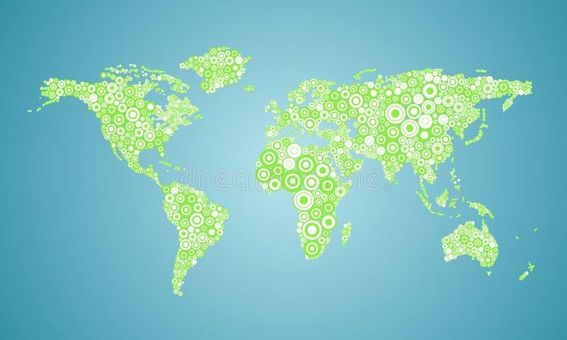 Mappa Di Mondo Fotografia Stock Gratis
