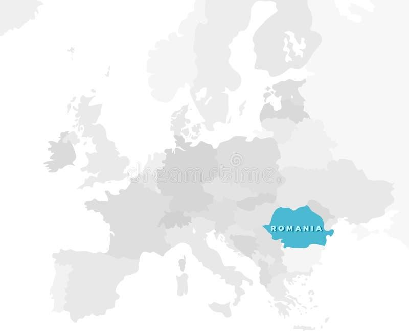 Cartina Dettagliata Romania.Mappa Di Posizione Della Romania Illustrazione Vettoriale Illustrazione Di Grafico Dettagliato 73031033