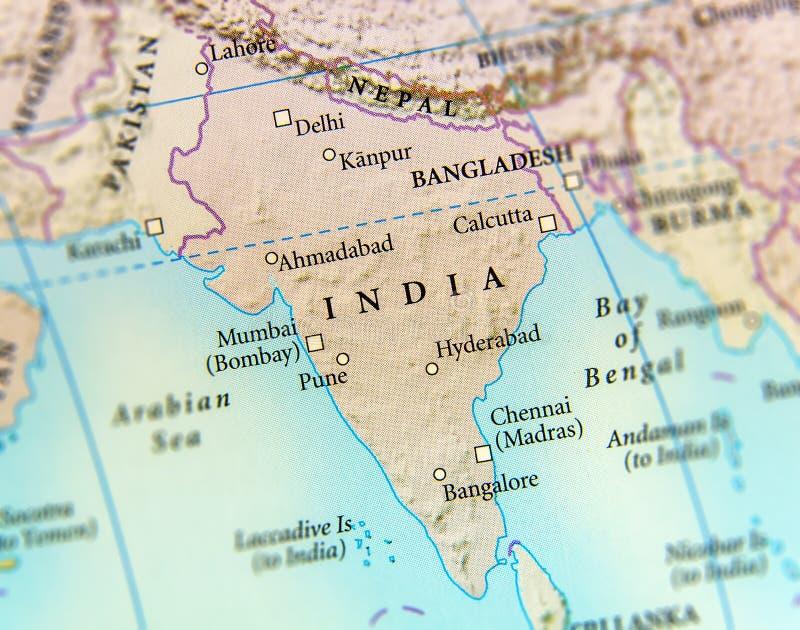 Cartina India Del Nord.Mappa Geografica Dell India Del Nepal Del Bhutan E Del Bangladesh Con Le Citta Importanti Immagine Stock Immagine Di Mondo Importante 96417285