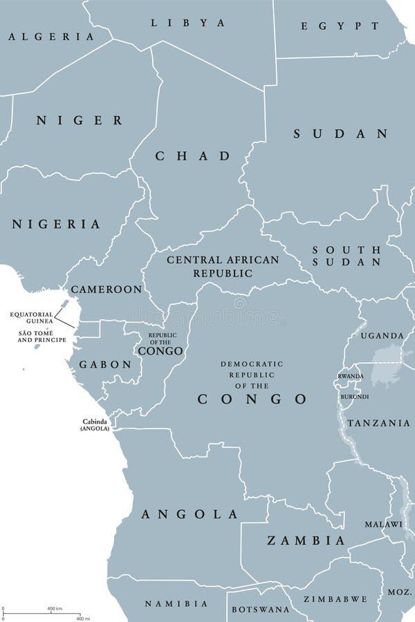 Africa Centrale Cartina Politica.Regione Di Africa Centrale Mappa Politica Illustrazione Vettoriale Illustrazione Di Africano Africa 109723224