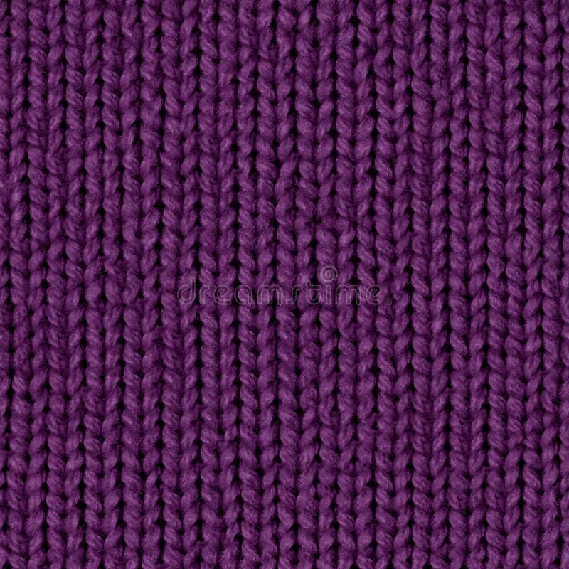 Mappa senza cuciture diffusa di struttura 7 del tessuto Viola scura fotografia stock libera da diritti