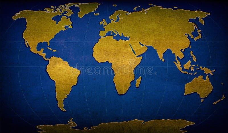 Mappa strutturata di parola immagine stock libera da diritti