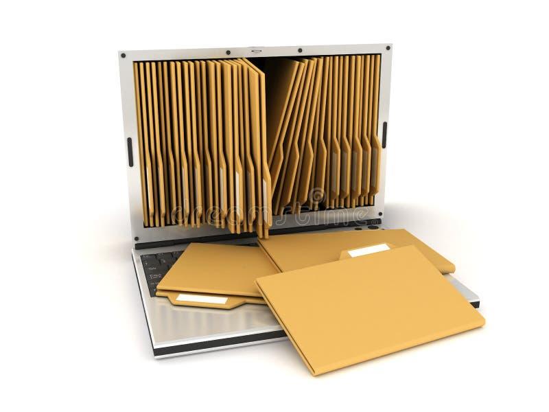 mappbärbar dator