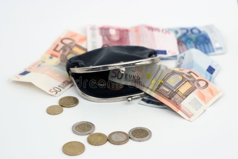 Mappe mit Money2 lizenzfreie stockbilder