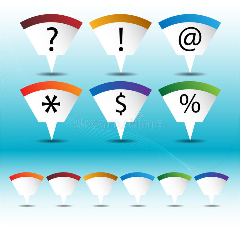 Download Mapping Pin Icon Set Royalty Free Stock Images - Image: 19977049