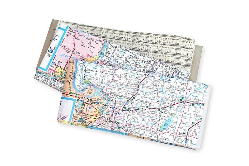 Maps royalty free stock photos