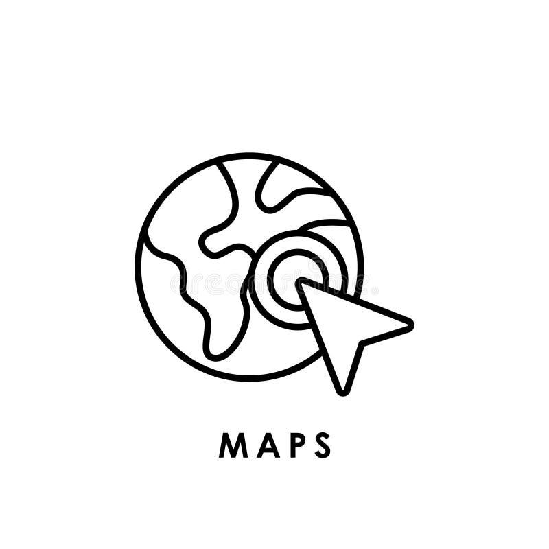 Maps Maps Icon Maps Vector Maps Icon Vector Maps Logo Maps Symbol Maps Web Icon Stock Vector Illustration Of Location Atlas 171440455