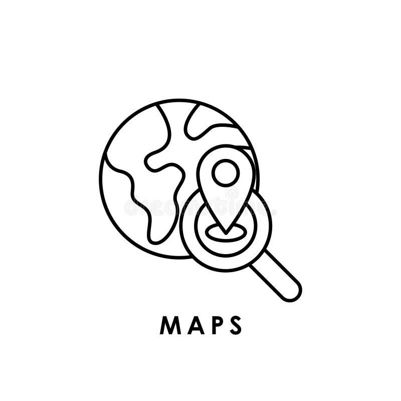 Maps Maps Icon Maps Vector Maps Icon Vector Maps Logo Maps Symbol Maps Web Icon Stock Vector Illustration Of Location Call 171440570