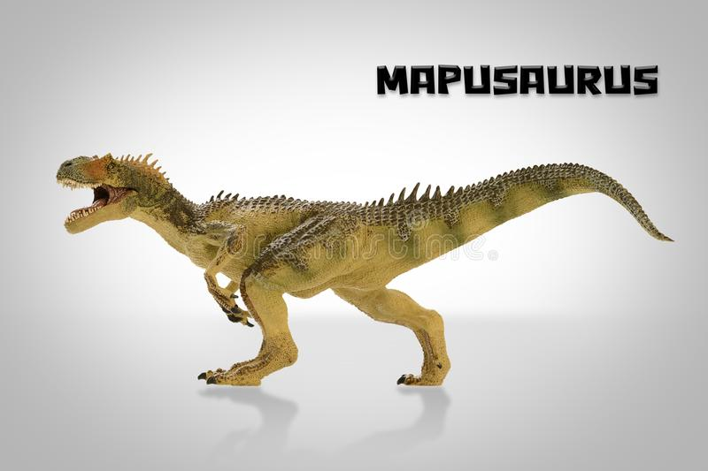 Mapusaurus royaltyfri illustrationer