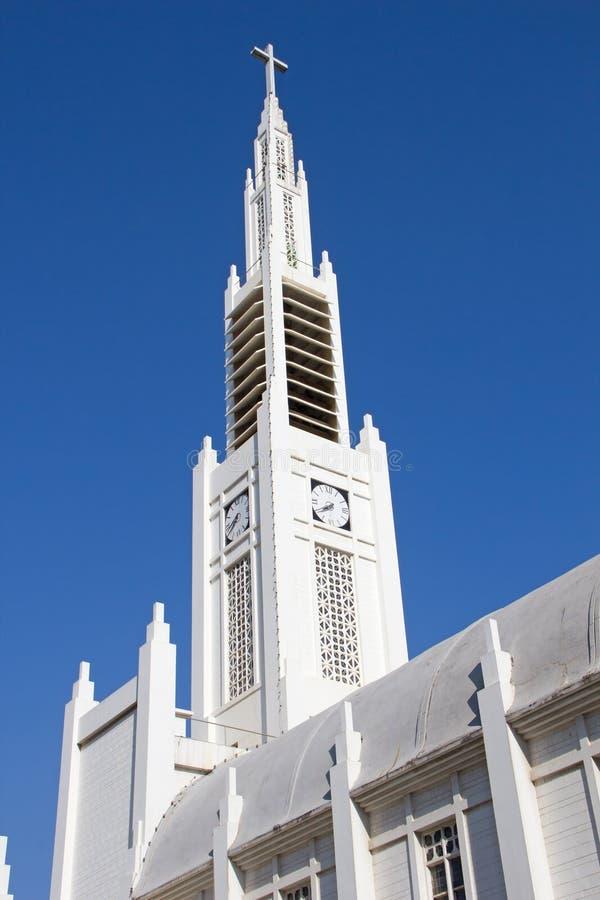 Maputo, Mozambique. The Roman Catholic Cathedral in Maputo, Mozambique royalty free stock photos