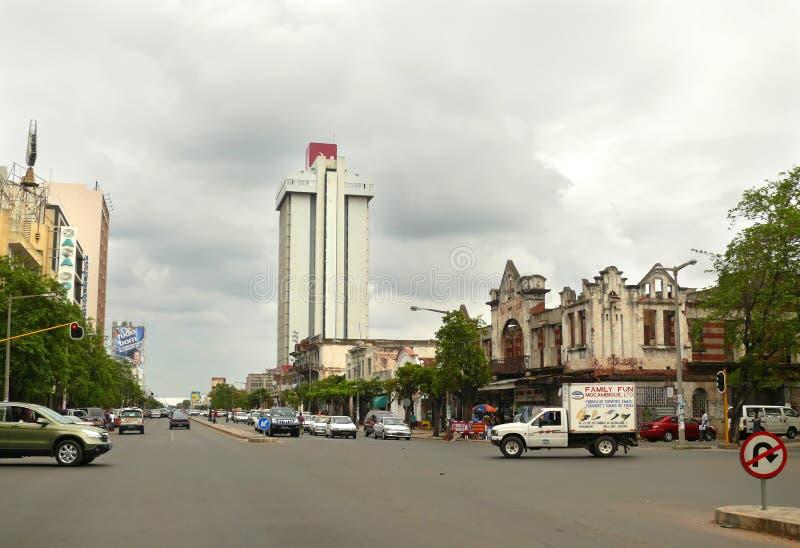 Maputo, Mozambique - 12 de diciembre de 2008: en la capital de Mozamb fotos de archivo libres de regalías