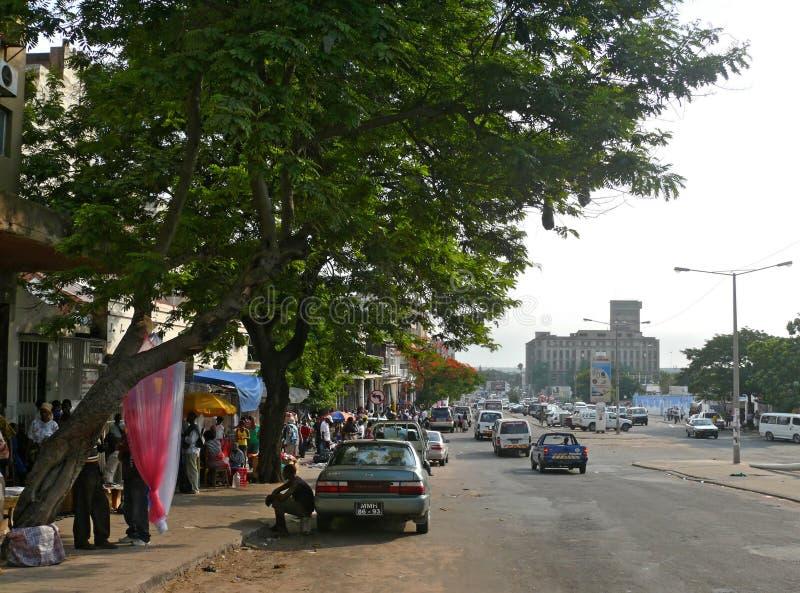 Maputo, Mozambique - 11 de diciembre de 2008: la capital de Mozambiqu fotos de archivo