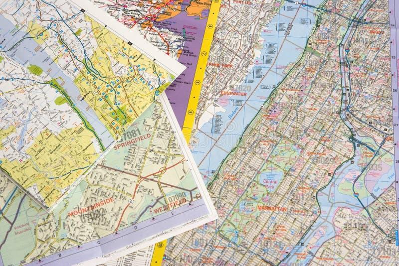 mapy. zdjęcia stock