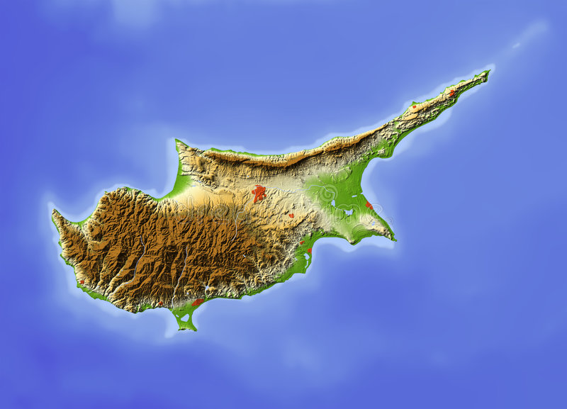 mapy cibory ulga ilustracji