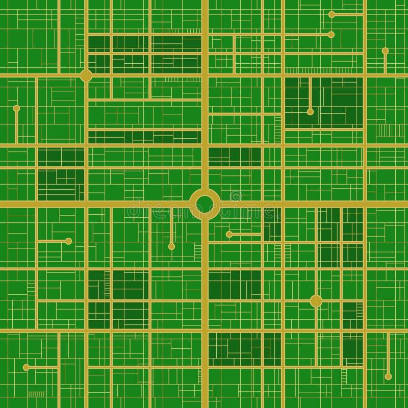 mapy drogi technologia ilustracja wektor