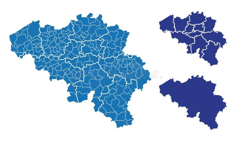 mapy, które royalty ilustracja