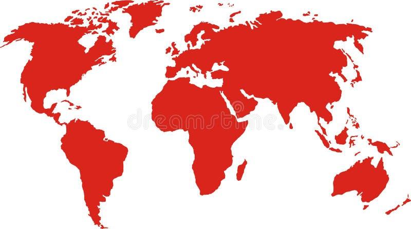mapy mundi ilustracji