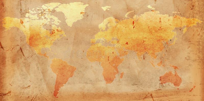 mapy rocznika świat obrazy royalty free