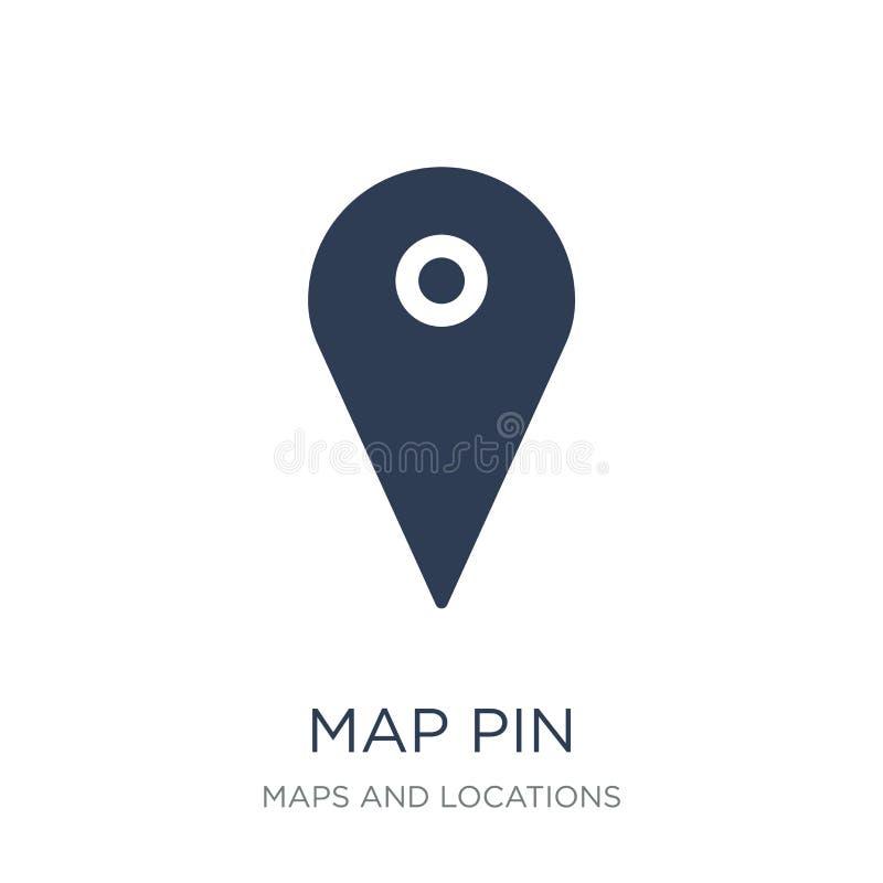 Mapy wałkowa ikona  ilustracji