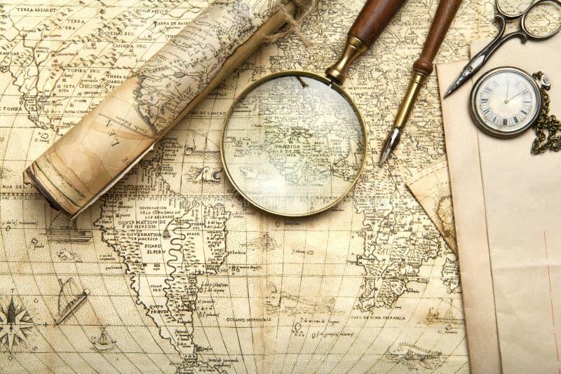 mapy, zdjęcia, piękną, rocznik fotografia royalty free