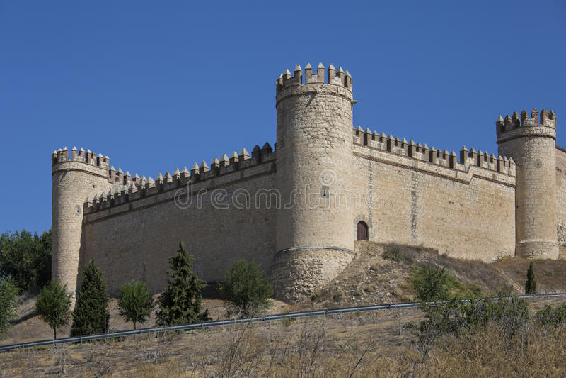 Maqueda Castle - Spain Stock Image