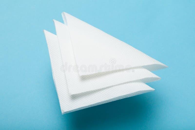 Maqueta blanca de la servilleta del cóctel del papel de la barra fotografía de archivo libre de regalías