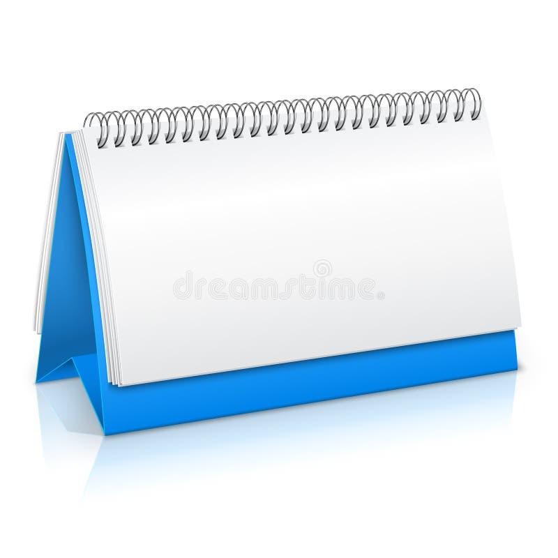 Maqueta de papel del calendario libre illustration