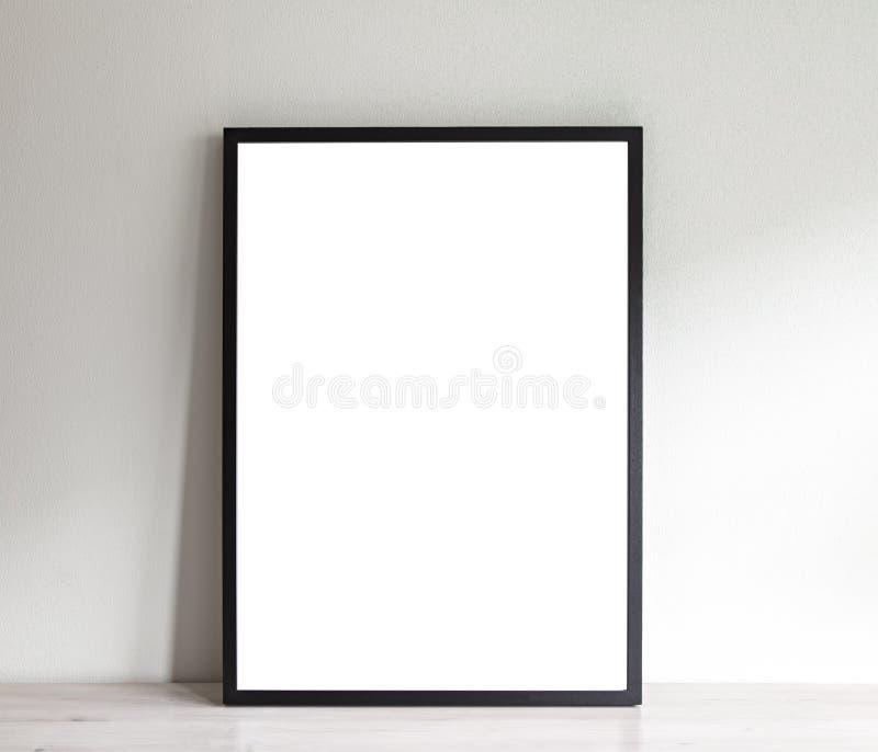 Maqueta del marco del cartel imágenes de archivo libres de regalías