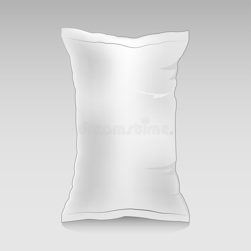 Maqueta del producto del bolso del bocado ilustración del vector