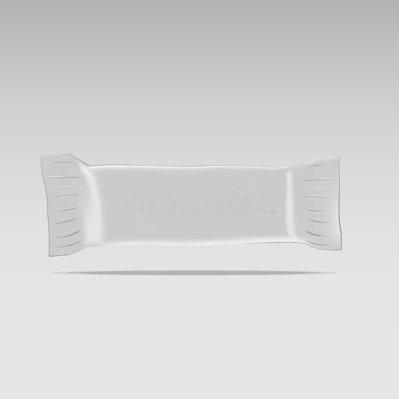 Maqueta del snack bar ilustración del vector