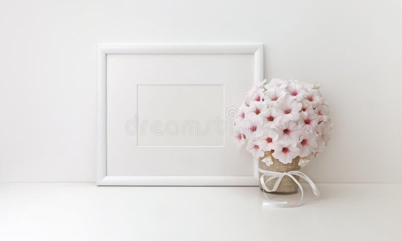 Maqueta horizontal del marco, fotos comunes diseñadas fotos de archivo libres de regalías