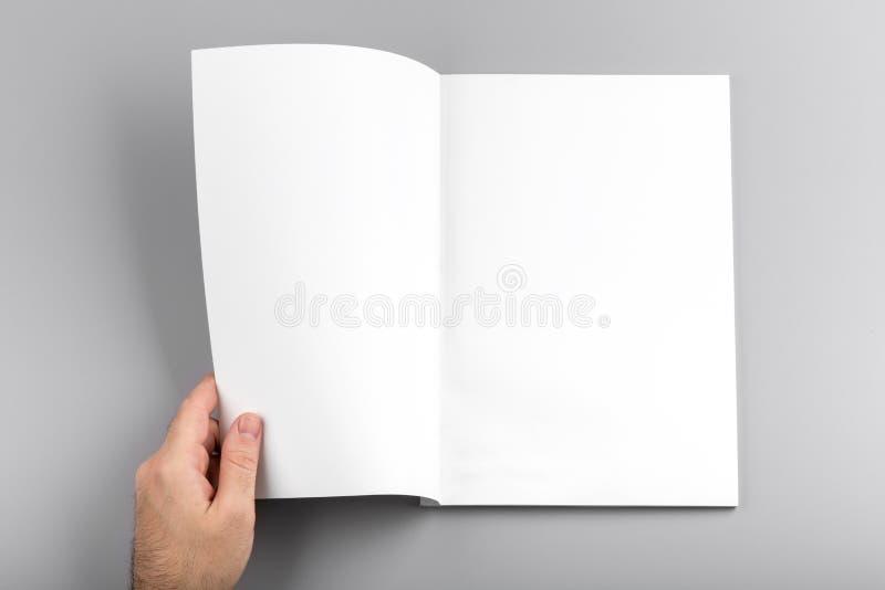 maquette de magazine photographie stock