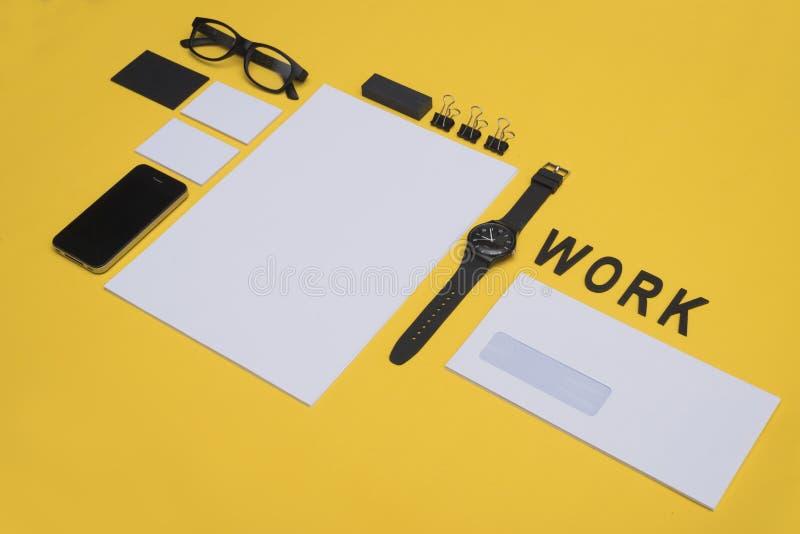 Maquette moderne de conception d'en-tête de lettre photos libres de droits