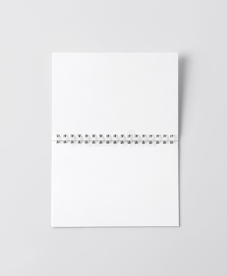 Maquette pour présenter la nouvelle conception photographie stock libre de droits