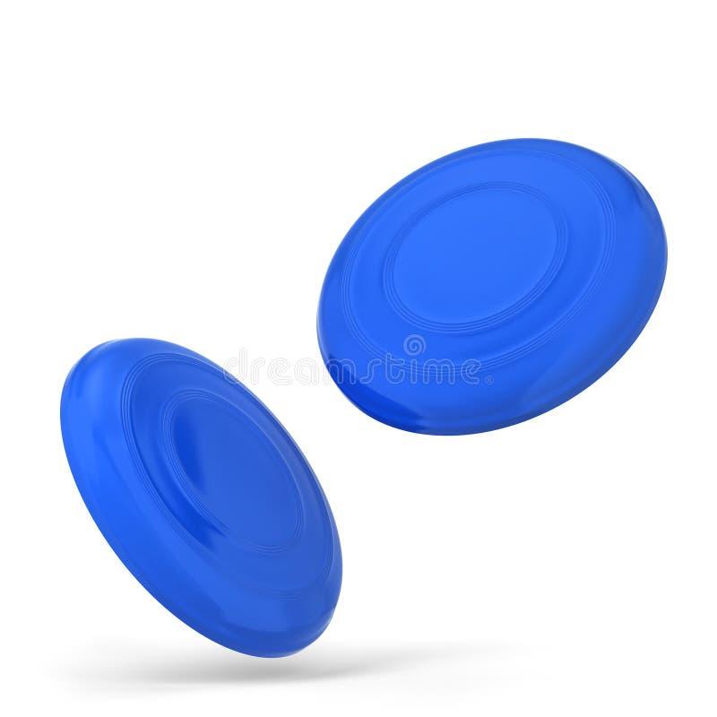 Maquette vide de frisbee illustration libre de droits