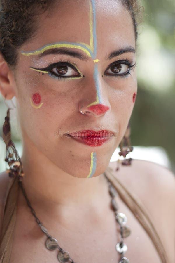 Préférence Maquillage de cirque photo éditorial. Image du lipstick - 39677021 OW29