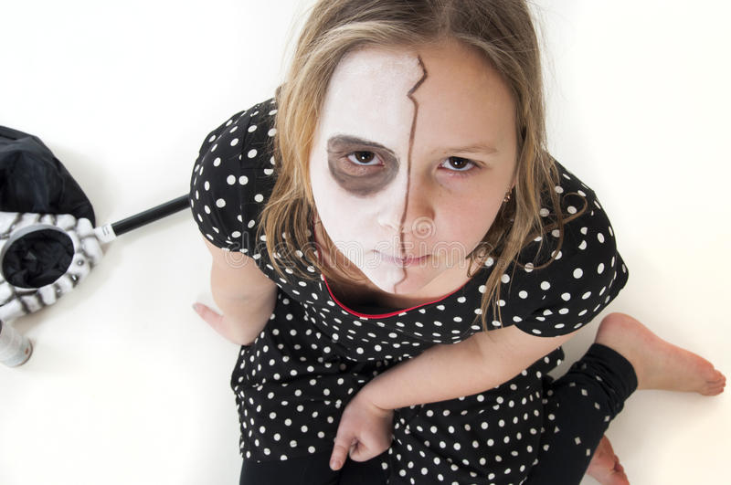 Maquillage Halloween images libres de droits
