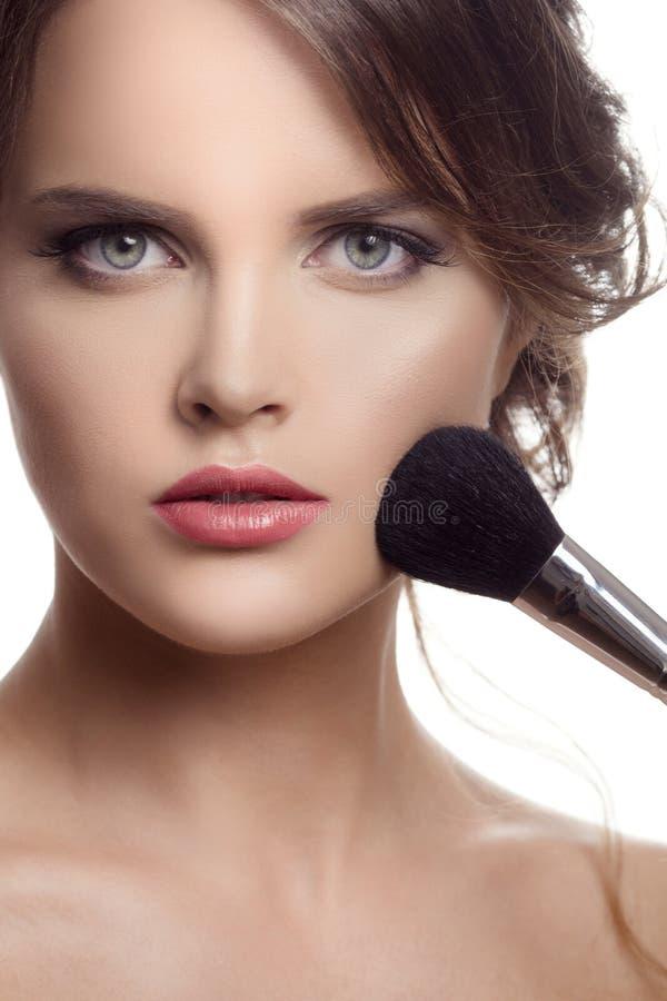 Maquillage Visage de maquillage photos libres de droits