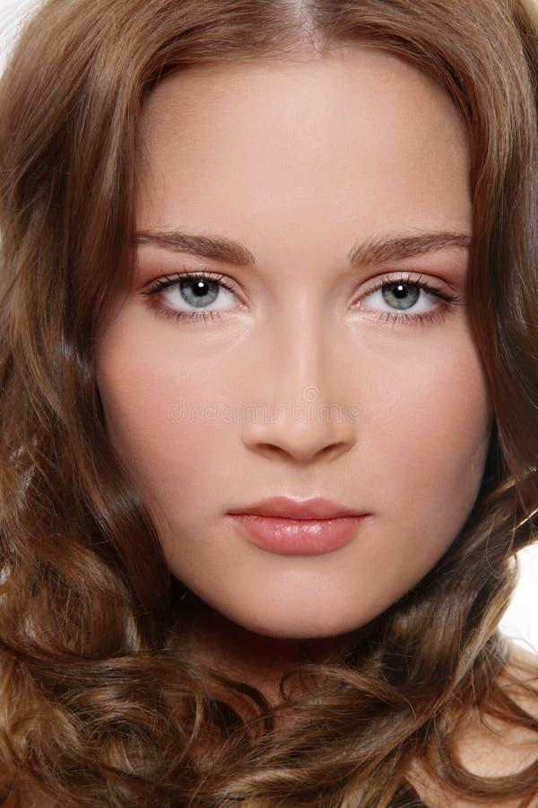 Maquillaje claro foto de archivo