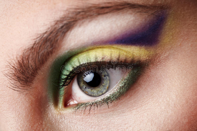 Maquillaje creativo foto de archivo