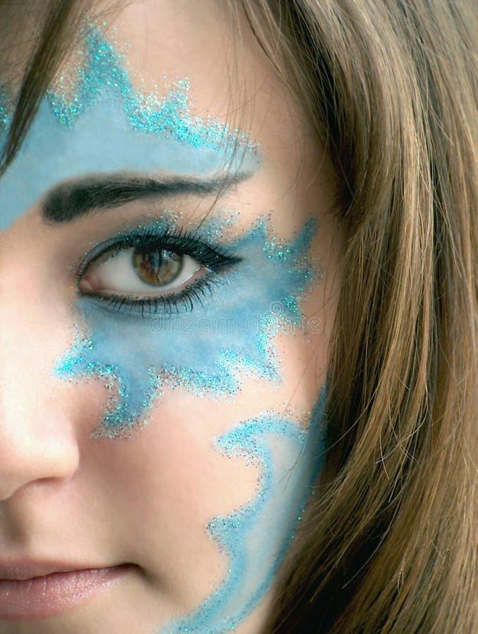 Maquillaje de la fantasía foto de archivo