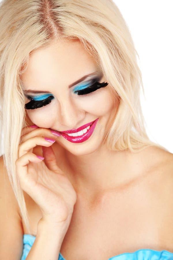 Maquillaje de la manera fotos de archivo