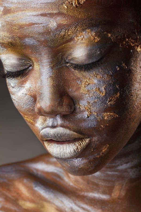 Maquillaje de la manera fotografía de archivo libre de regalías