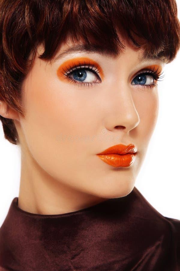 Maquillaje de lujo foto de archivo