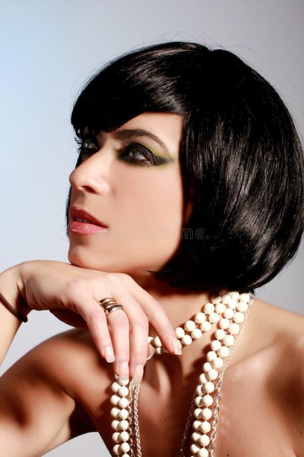 Maquillaje Del Encanto Fotografía de archivo